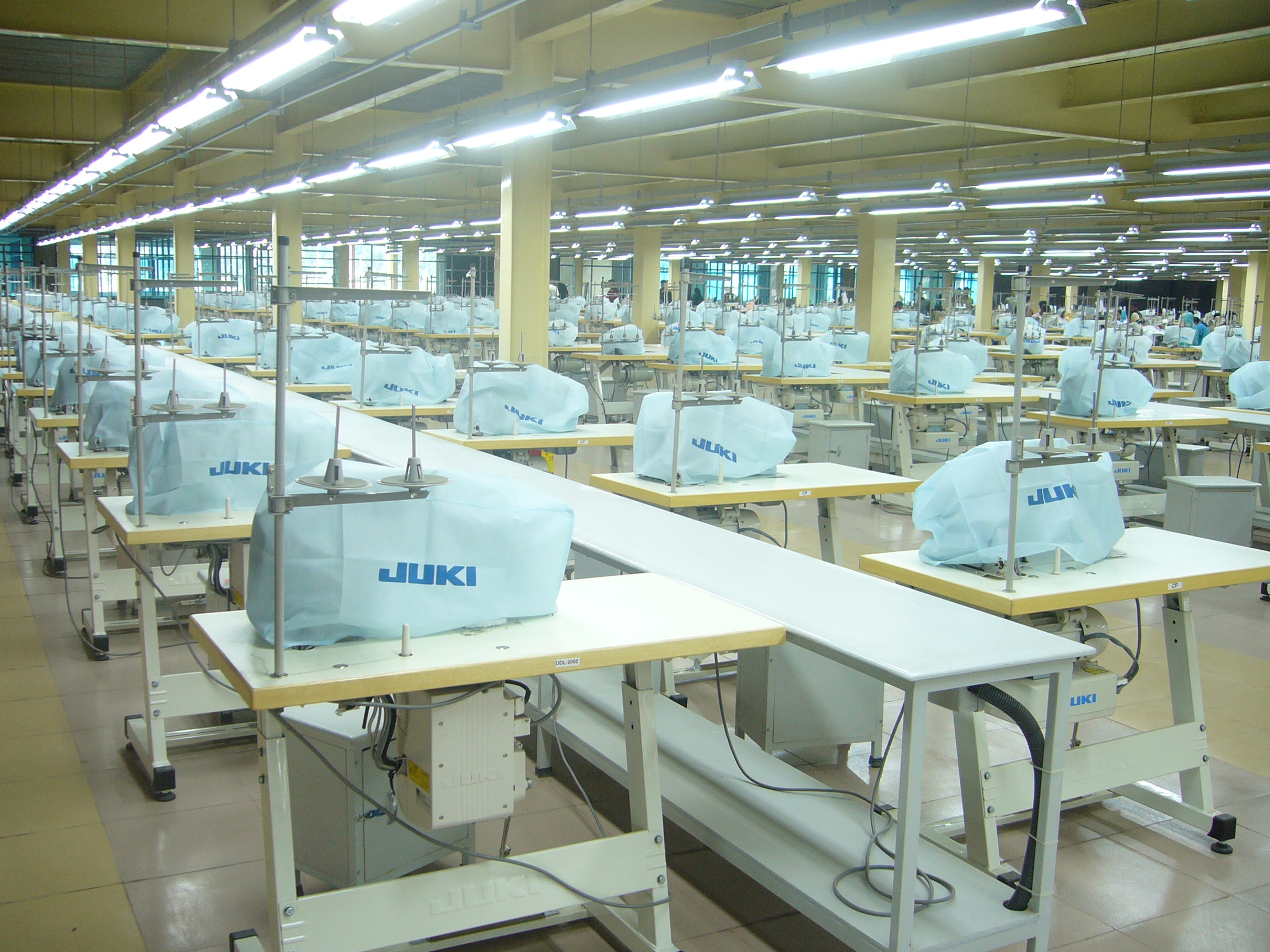 A project report on garment factory